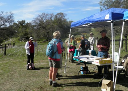 Volunteers at the McKenzie Preserve, March 2012