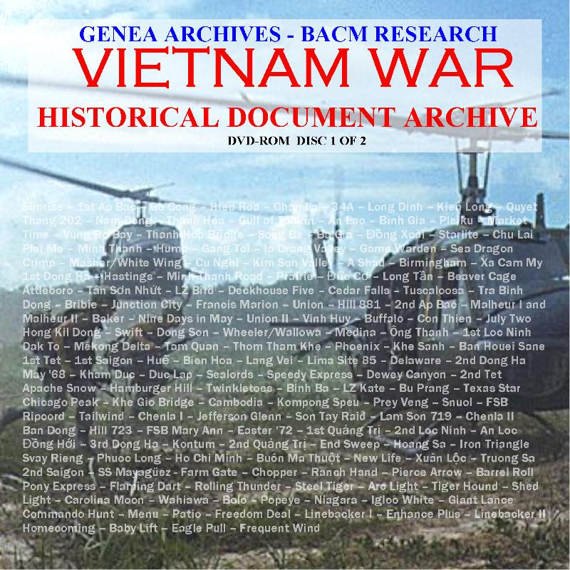 Vietnam War complete set