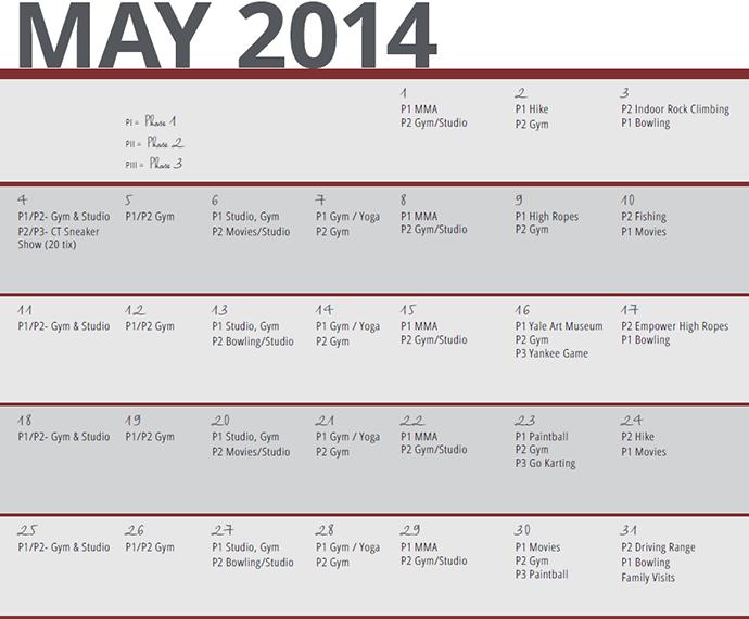 May 2014 Calendar