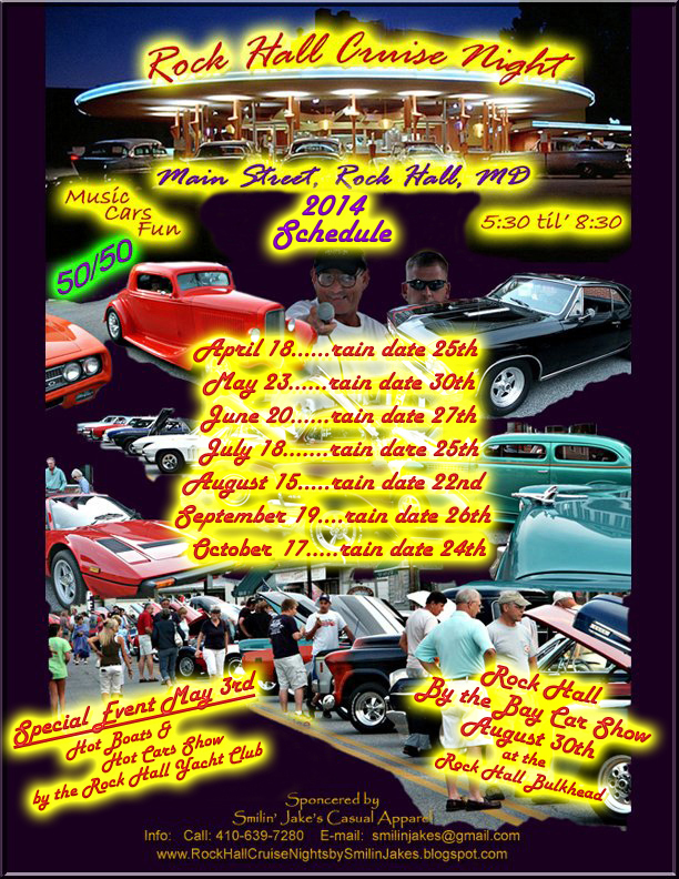 2014 Cruise Schedule