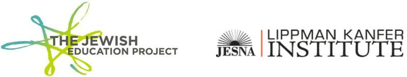 Jewish Ed Project and JESNA Logos