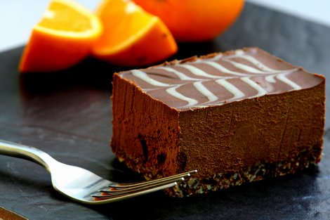 Marbled Chocolate & Orange Tavoletta