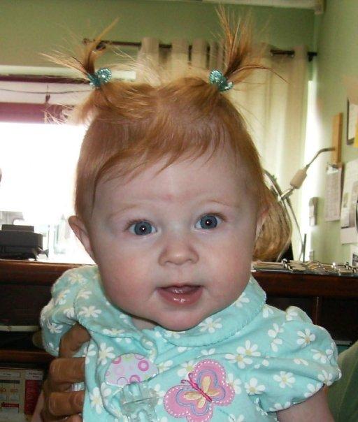 Abigail 6 months old