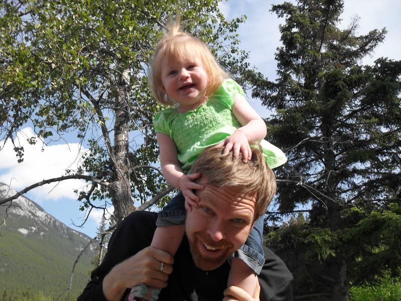 Abigail Daddy Banff 2010