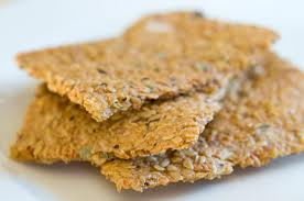 Vegetable Flax Crackers