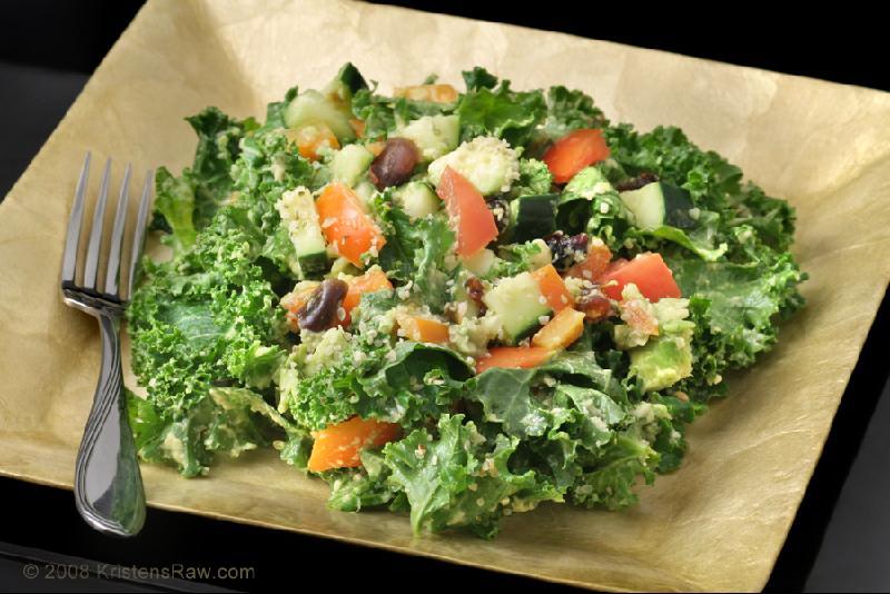 Kristren Suzanne Rockin Kale Salad