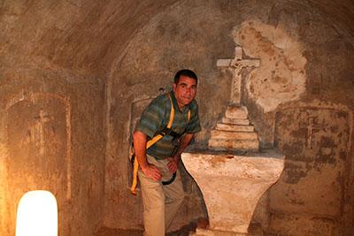 David Bolton in Crypt