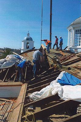San Luis Rey Roof Work
