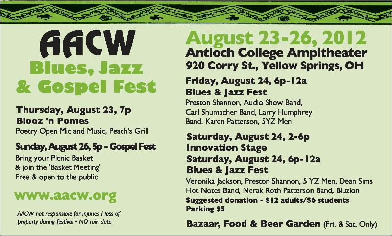 AACW Blues Fest 2012