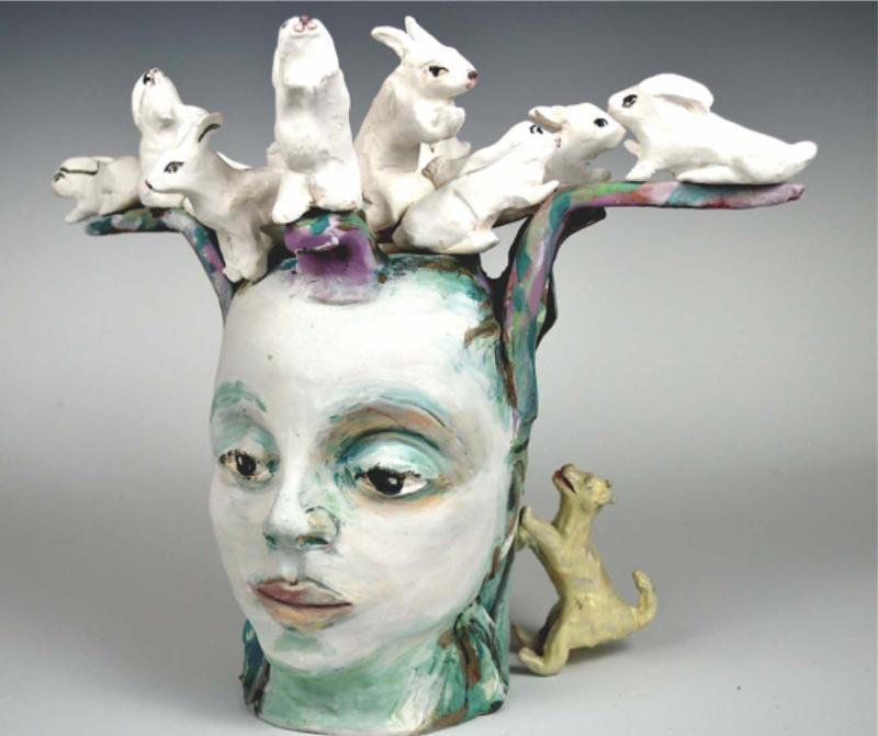 Beth Holyoke Rabbit Head