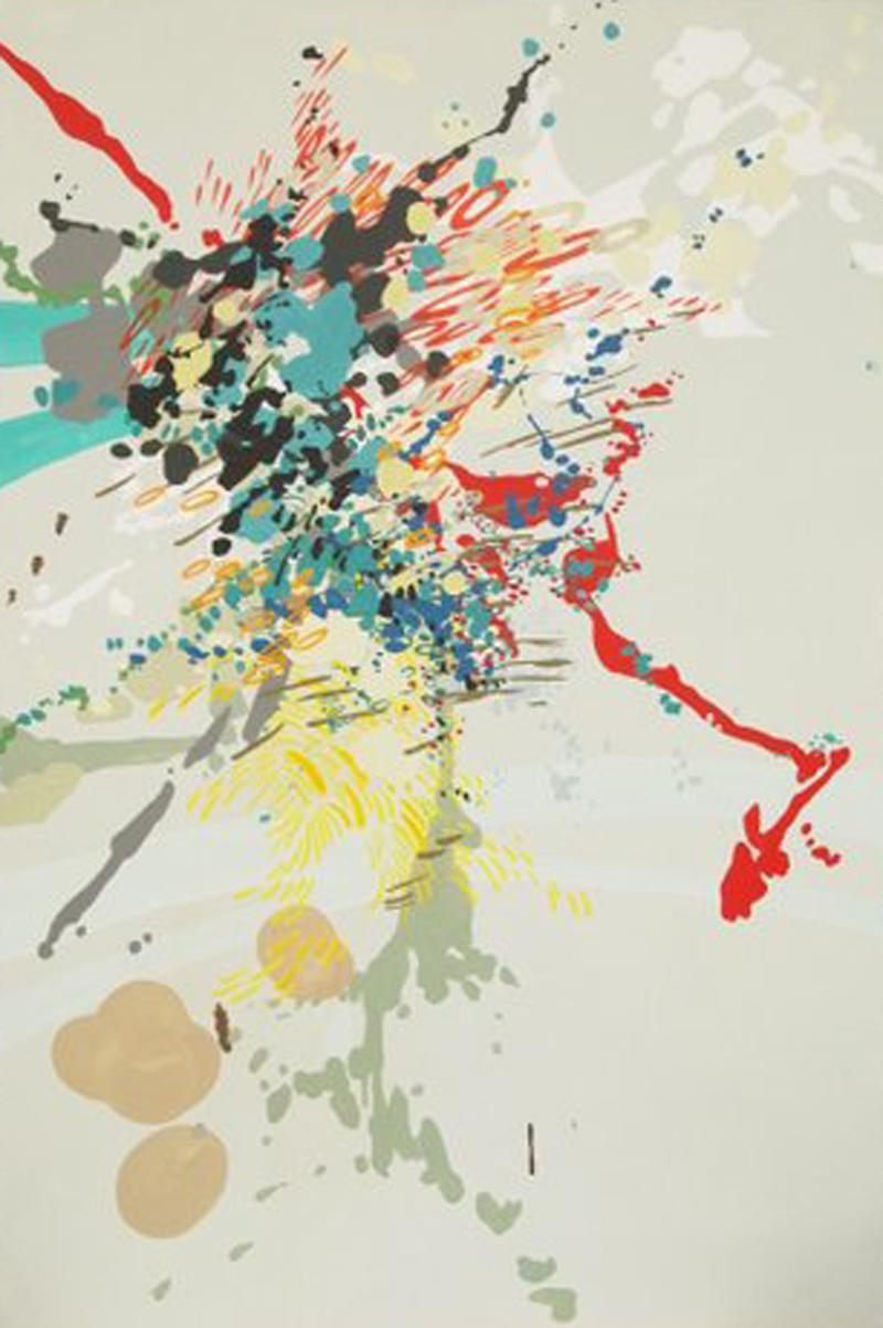Melissa Matsuki Lille, Pinto, acrylic on canvas