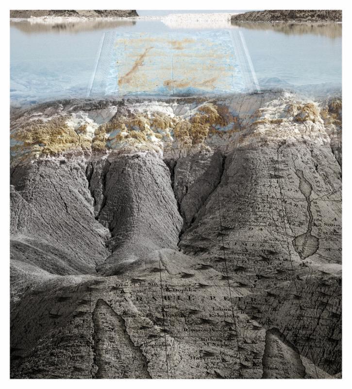 Dorit Feldman, Tear Fossils, 2011, inkjet print on archival paper