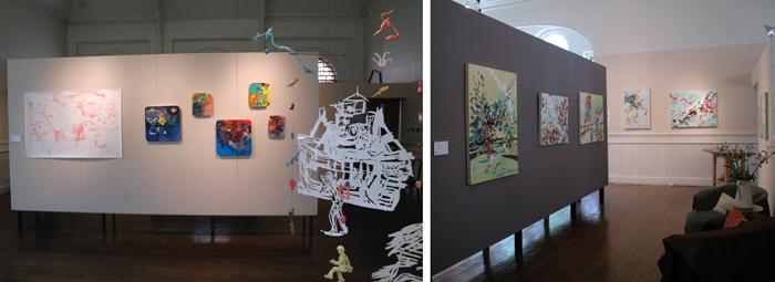 Installation Views of Lawrence Cromwell AK AK AK & Melissa Matsuki Lillie Transverse