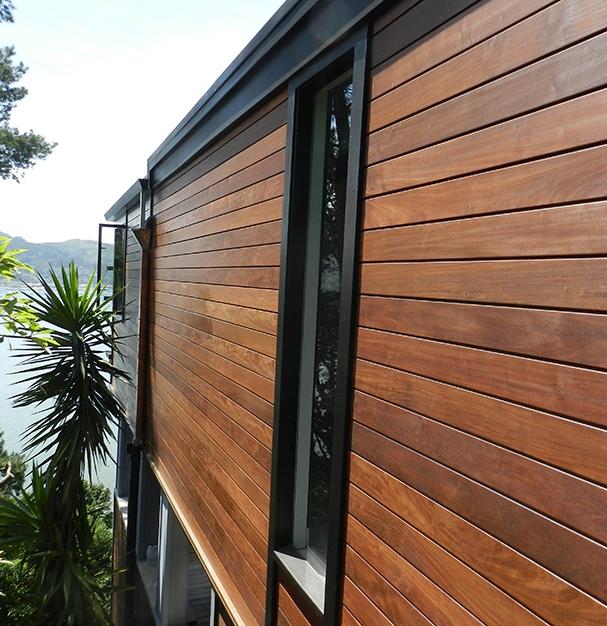 Climate Shield Rain Screen Wood Siding System