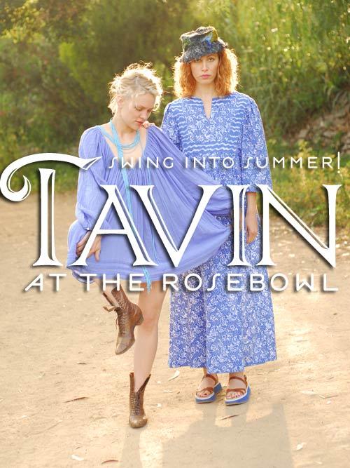 Tavin at  The rosebowl