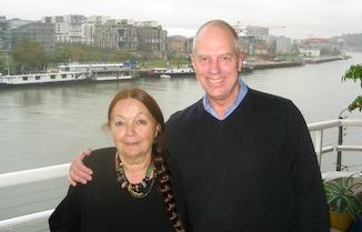 Michelle Berthet & Peter Koepke in Lyon