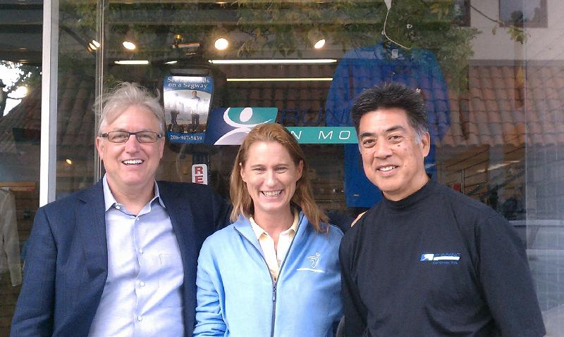 Stephanie Wright with Dr. Gregg Jantz and Mr. Frank Yamamoto