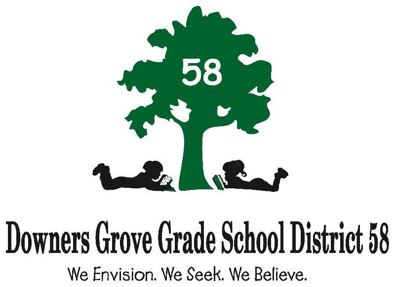 District 58 logo