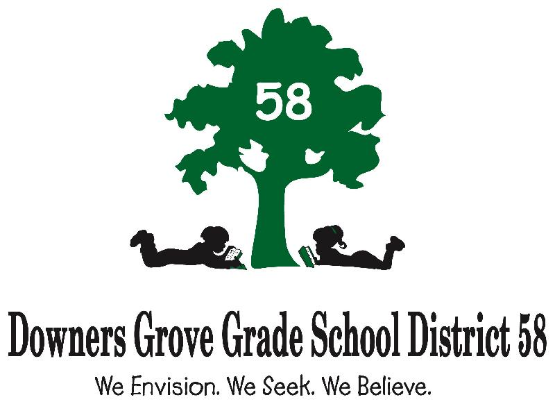 District 58 logo