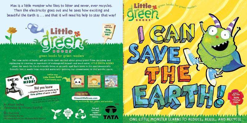 I Can Save The Earth Book Jacket