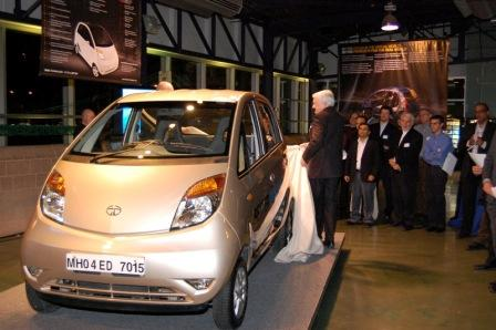 CEO Unveiling the Tata Nano