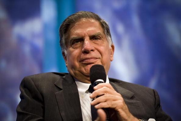 Mr. Tata at CGI