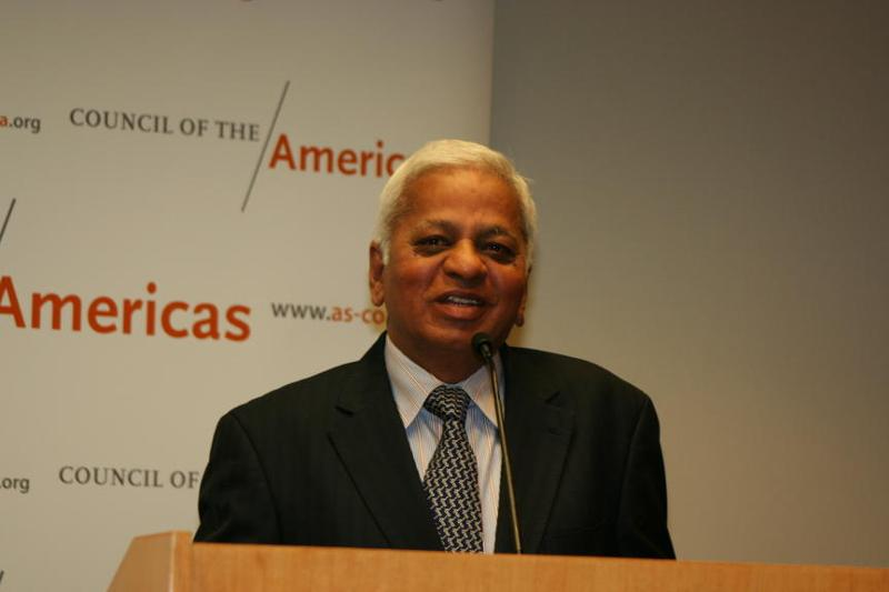 Mr Muthuraman speaking at CoA