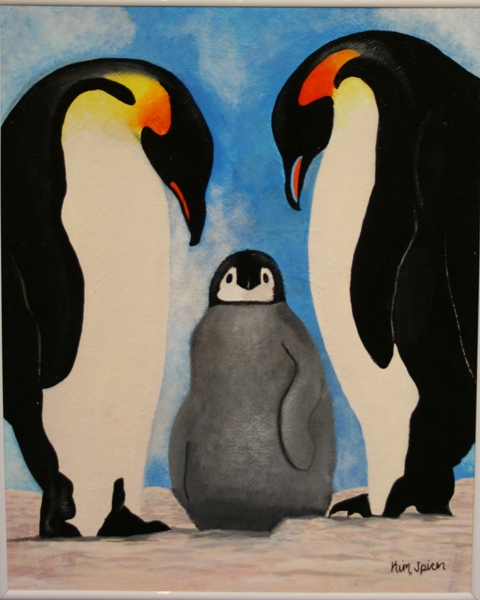 Penguins by Kim Spicer