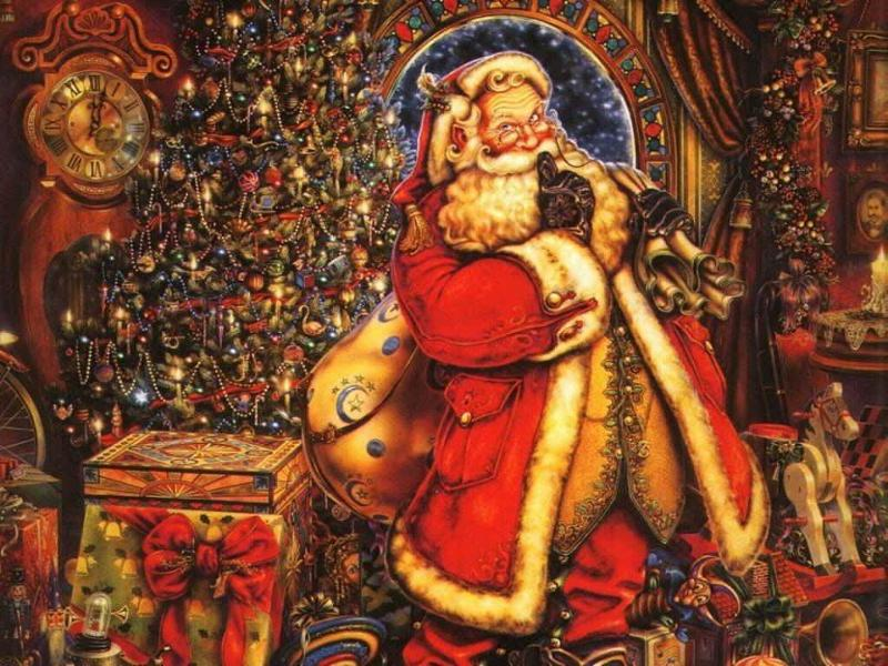 Victorian Santa Claus