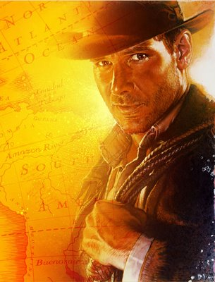 Indiana Jones Gold Background