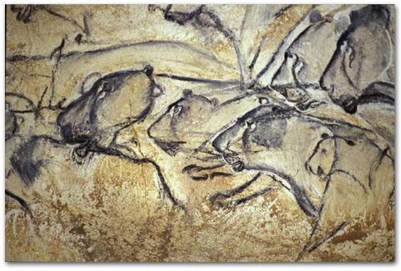 Carbon dating cave art