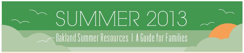 OUSD summer guide 2013
