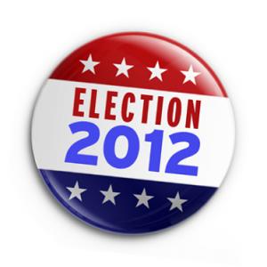 election 2012 button
