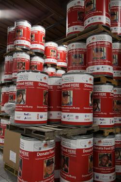 ACFdBank food barrels