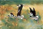 winged migration art