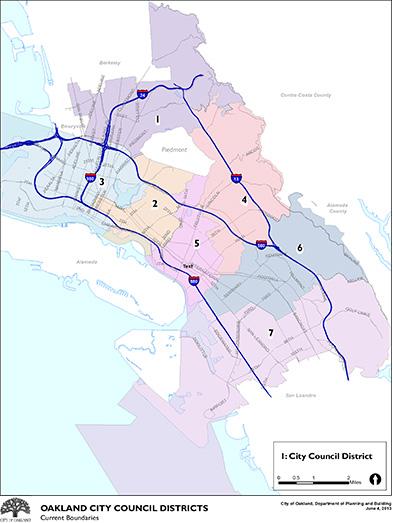 City Council map
