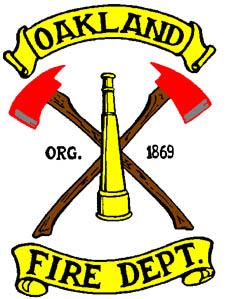 O Fire Dept ax logo