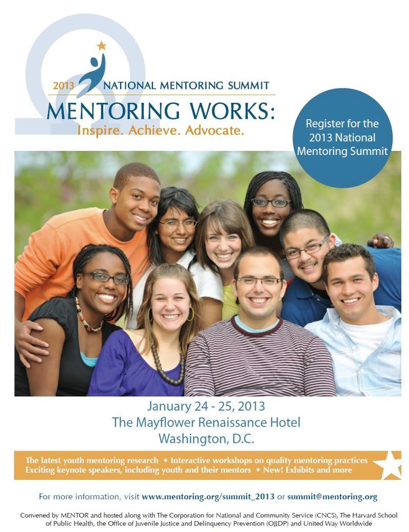 National Mentoring Summit Flyer