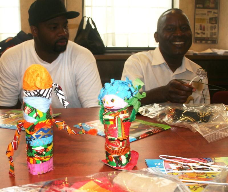 art workshop for staff