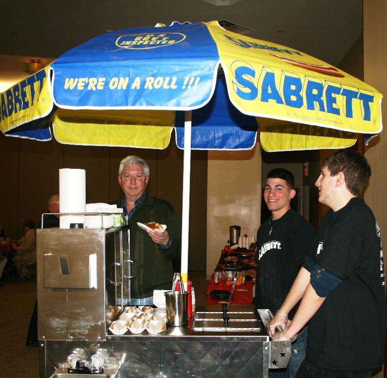 Sabrett cart