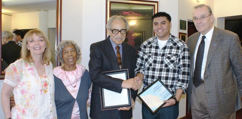 Harold & Doris Williams honored at Blossoms