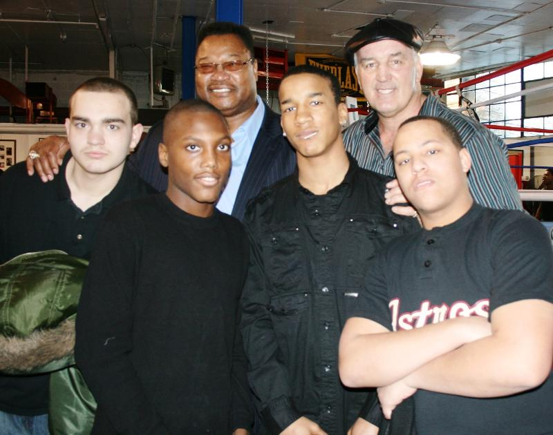 Larry Holmes, Gerry Cooney and boys