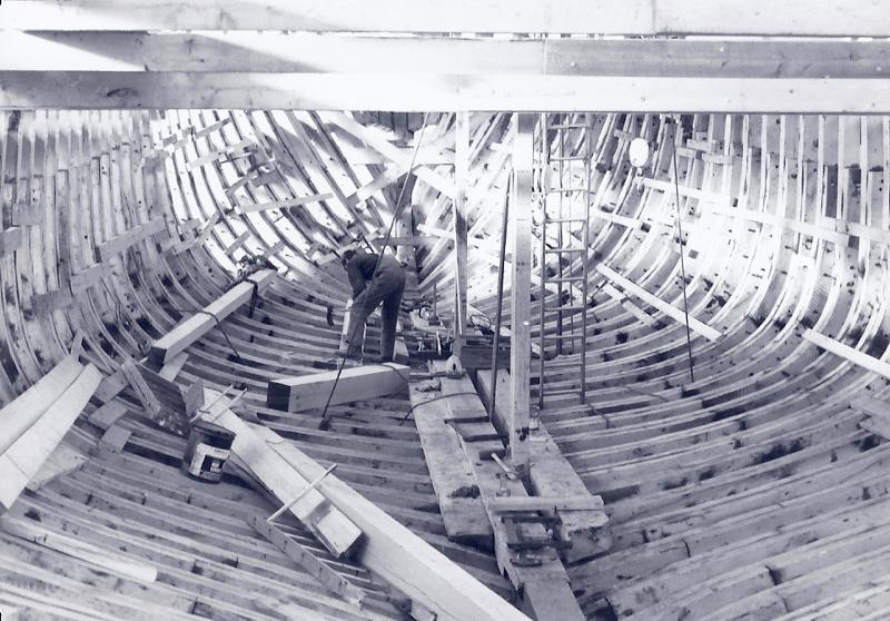 1981 The Great Windship Heritage under construction