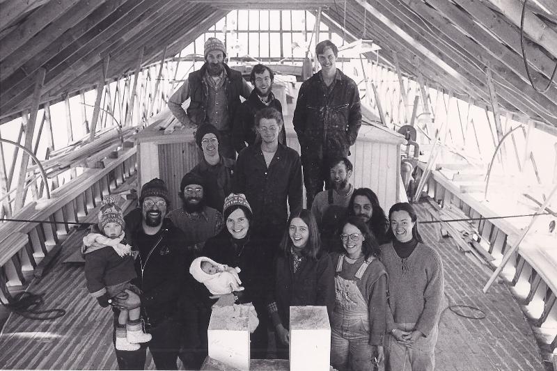 Schooner Heritage Construction Crew