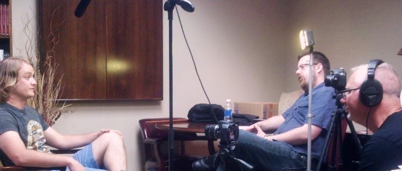 PTSD Filming1