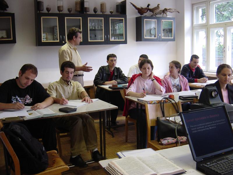 Ieremia Teaching in Romania