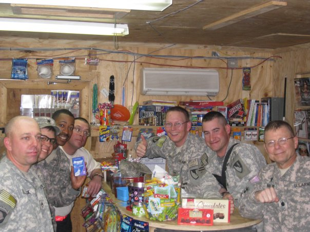 Down time in Afghanistan