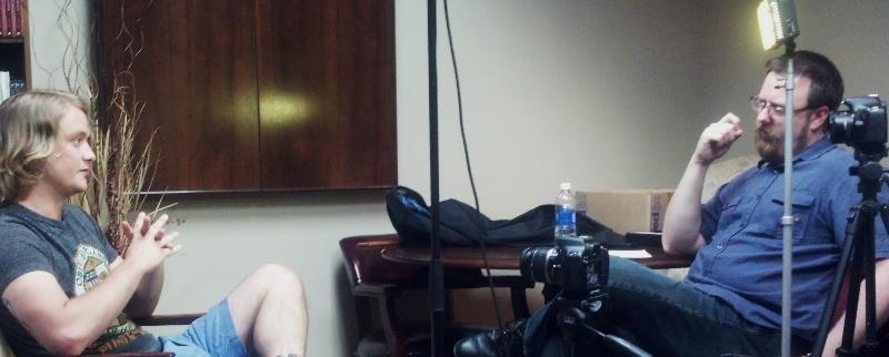 PTSD Filming2