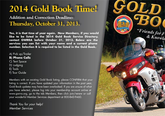 Gold Book ad