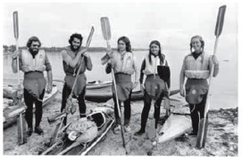 Old paddling photo